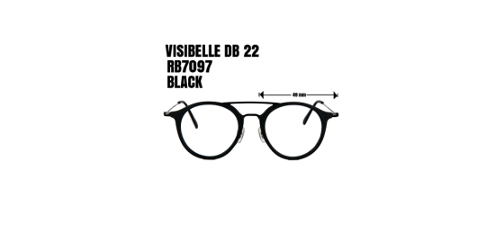 VISIBLE DB 22 RB 7097  BLACK