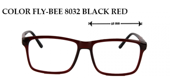 COLOR FLY-BEE 8032 BLACK RED