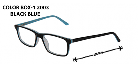 COLOR BOX-12003 BLACK BLUE
