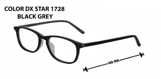COLOR DX  STAR 1728 BLACK GRAY