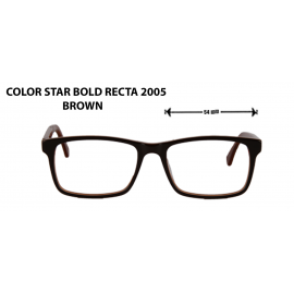 COLOR STAR BOLD RECTA 2005 BROWN