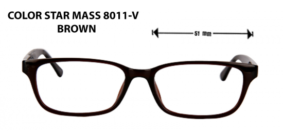 COLOR STAR MASS 8011-V BROWN