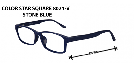 COLOR STAR SQAURE  8021 -V STONE BLUE