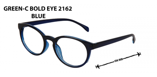 GREEN -C BOLD EYE  2162 BLUE