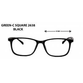 GREEN C- SQUARE  2368 BLACK