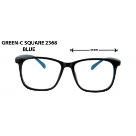 GREEN C- SQUARE  2368 BLUE