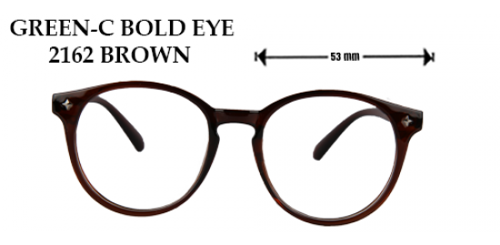 GREEN-C BOLD EYE 2162 BROWN