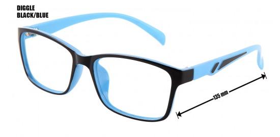 DIGGLE BLACK/BLUE