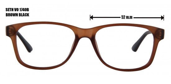 SETH VO 1740B  BROWN BLACK