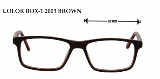 COLOR BOX -12003 BROWN