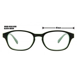NOAH-9038 KIDS BLACK - GREEN