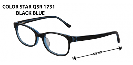color star qsr  1731 blue red