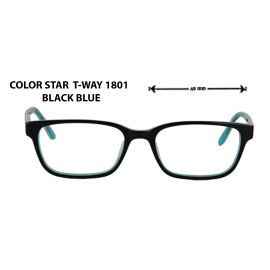 color star t-way 1801  black blue