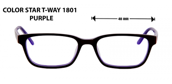 color star t-way 1801 purple