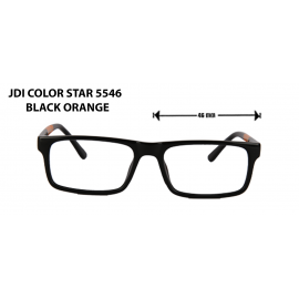 jdi color star  5546 black orange
