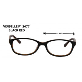 visible f1 black red