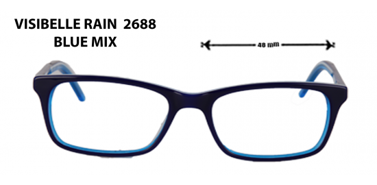 visible rain 2688 blue mix