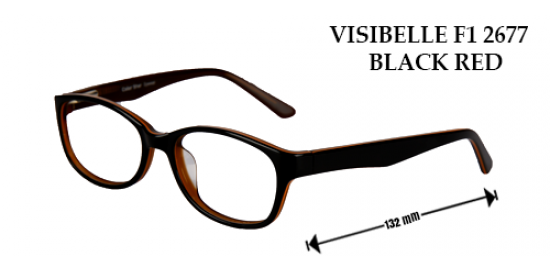 visiblle f1 2677 black red
