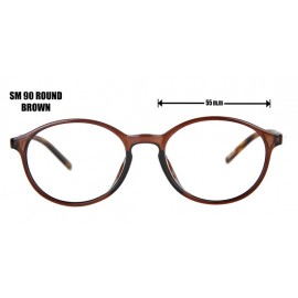 SM 90 ROUND - BROWN