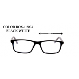 COLOR BOX -1 2003 BLACK WHITE