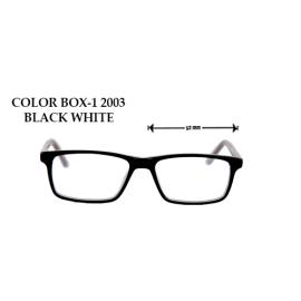 COLOR BOX -1 2003 BLACK WHITE