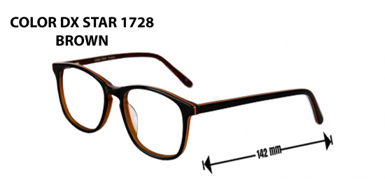 COLOR DX STAR 1728 BROWN