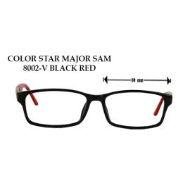 COLOR STAR MAJOR SAM 8002-V BLACK RED