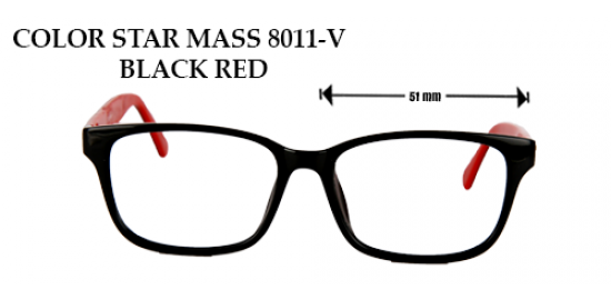 COLOR STAR MASS 8011-V BLACK RED