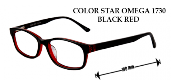 COLOR STAR OMEGA 1730 BLACK RED