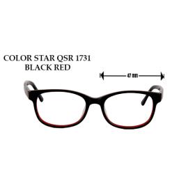 COLOR STAR QSR 1731 BLACK RED