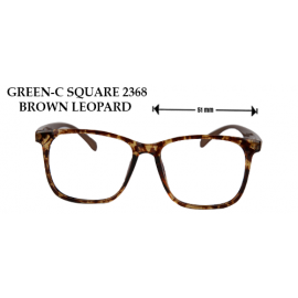 GREEN C-SQUARE 2368 BLACK LEOPARD