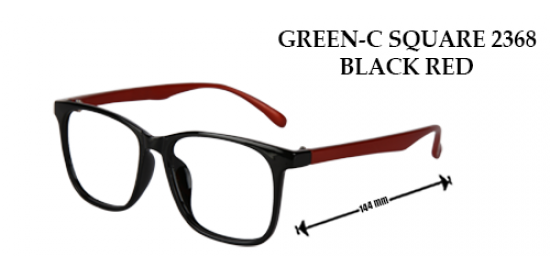 GREEN C-SQUARE 2368 BLACK RED