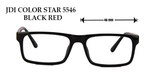 JDI COLOR STAR 5546 BLACK RED