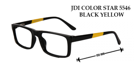 JDI COLOR STAR 5546 BLACK YELLOW