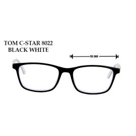 TOM C-STAR 8022 BLACK WHITE