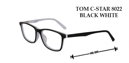 TOM C-STAR 8022 BLACK WHITE