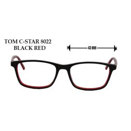 TOM C- STAR 8022 BLACK RED