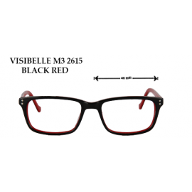 VISIBLLE M3 2615 BLACK RED