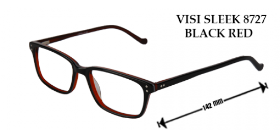 VISI SLICK 8727 BLACK RED