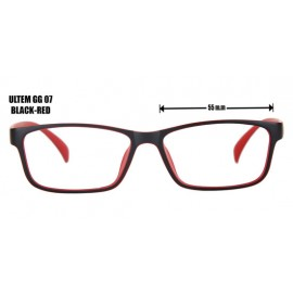 ULTEM GG 07  - BLACK RED
