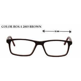 COLOR BOX -12003 BROWN