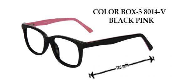 COLOR BOX-3 8014-V BLACK PINK