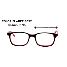 COLOR FLY-BEE 8032 BLACK PINK