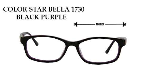 COLOR STAR BELLA 1730 BLACK PURPLE
