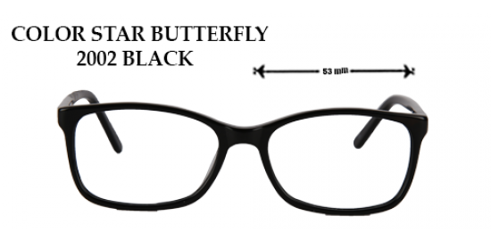 COLOR STAR BUTTERFLY 2002 BLACK