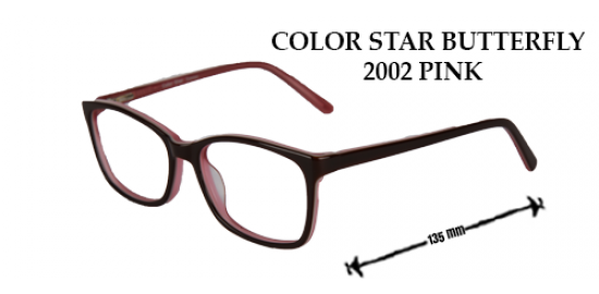 COLOR STAR BUTTERFLY 2002 PINK