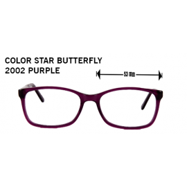 COLOR STAR BUTTERFLY 2002 PURPLE