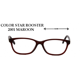 COLOR STAR ROOSTER 2001 MAROON