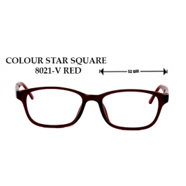 COLOR STAR SQUARE 8021-V RED