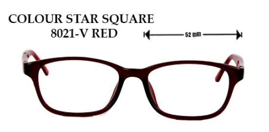 COLOR STAR SQUARE 8021-V RED
